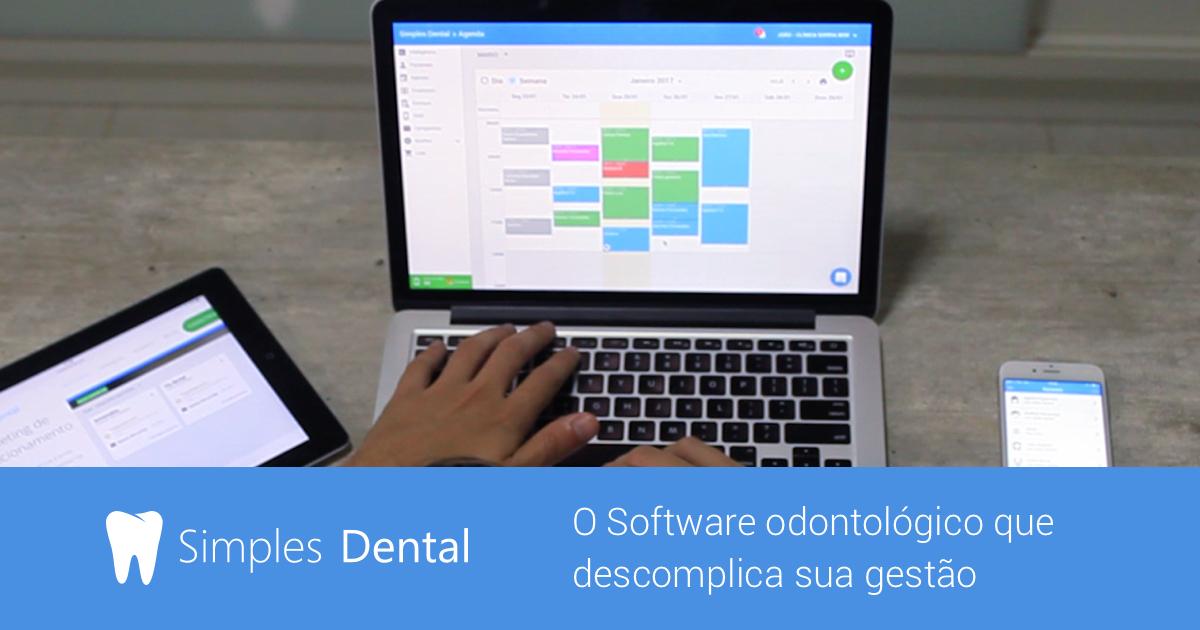 Simples Dental O Software Odontológico Mais Usado Pelos Dentistas