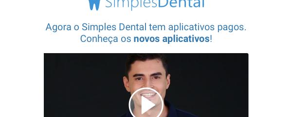 Novos aplicativos do Simples Dental